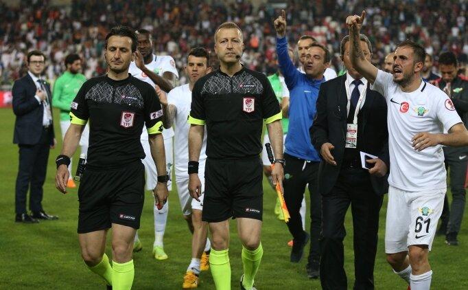 Erzurumspor - F.Bahçe maçına Suat Arslanboğa atandı!