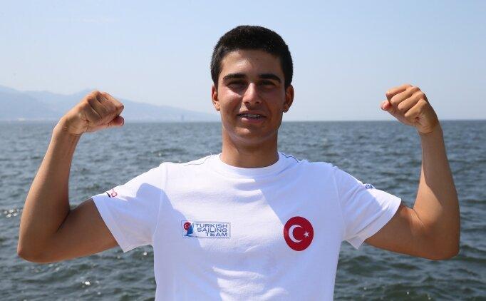 Ege'nin mavi sularından olimpiyatlara yelken açtı