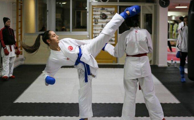 Genç karateciler Diyarbakır'da şampiyonluk için ter dökecek