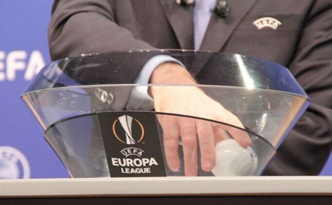 UEFA Avrupa Ligi'nde Türk takımlarının rakipleri belli oluyor