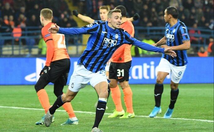 Atalanta, Ukrayna'da tarih yazdı! 3 golle üst tura...