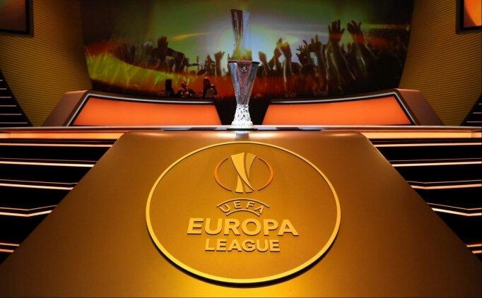 UEFA Avrupa Ligi'nde rakipler belli oluyor