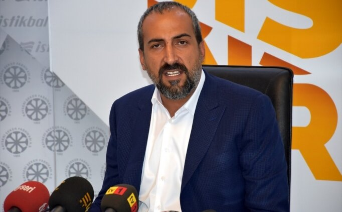 Kayserispor Basın Sözcüsü: 'Top dışarıdan geldi, çok net'