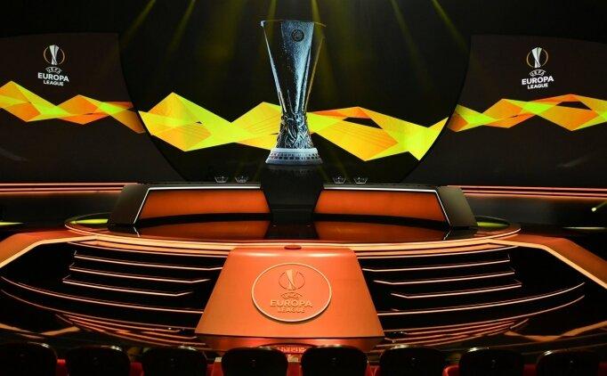 UEFA Avrupa Ligi'nde rakipler belli oldu!