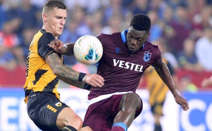 Trabzonspor korkuttu ama gruplara kaldı