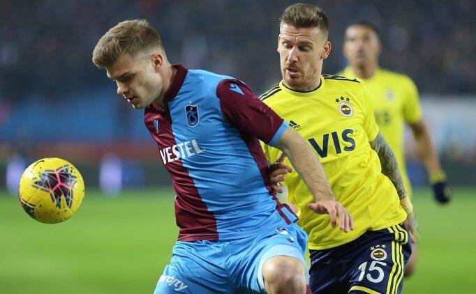 Trabzonspor kupada Fenerbahçe'ye karşı üstün