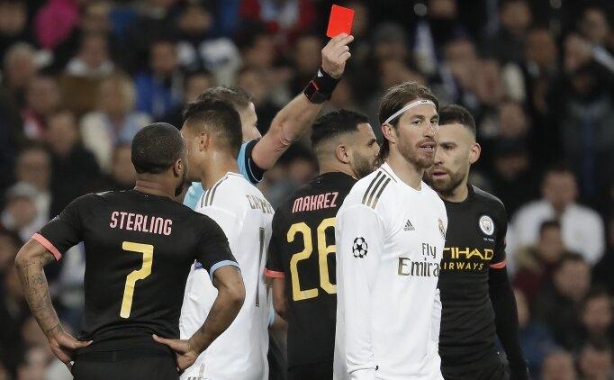 Ramos yine kırmızı gördü, istatistik yaptı