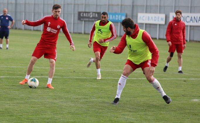 Sivasspor, kalan 8 hafta için çalışıyor