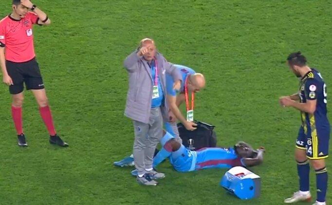 Trabzonspor'da Badou Ndiaye sakatlandı