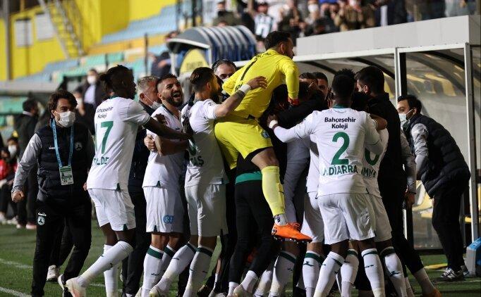 Ve Giresunspor Süper Lig'de!