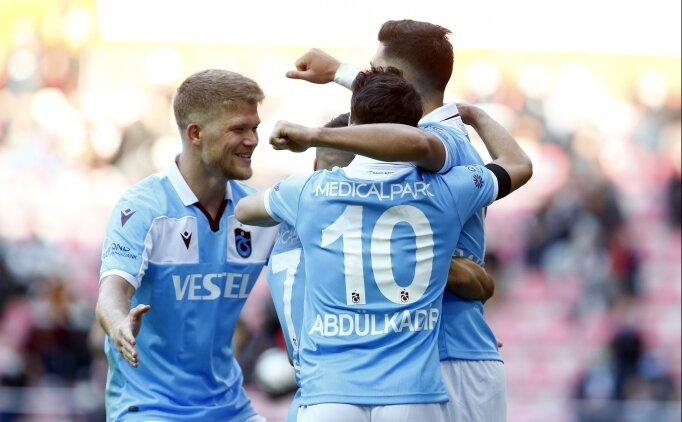Trabzon'da Fenerbahçe maçı heyecanı