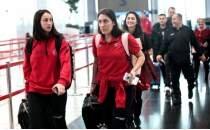 A Milli Kadın Basketbol Takımı Sırbistan'a gitti