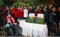 Antalyaspor taraftarından LÖSEV'e destek