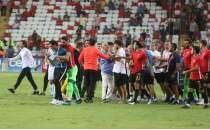 Antalya'da maç sonu olay çıktı! 'Küfür etmedim'