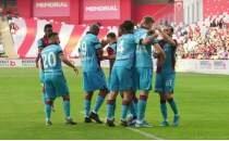 Trabzonspor, Akdeniz'de fırtına estirdi