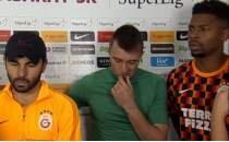 Galatasaray'ın üç kaptanından flaş açıklamalar