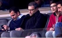 Comolli ve Deivid, Başakşehir - Alanyaspor maçını izledi