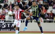 Sivasspor - Fenerbahçe maçı muhtemel 11'leri