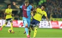 Trabzonspor - Fenerbahçe muhtemel 11'ler