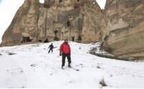 Peri bacaları arasında kayak keyfi