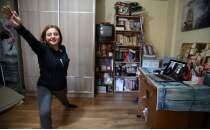 Manisalı eskrim antrenörü, sporcularına video konferansla antrenman yaptırıyor
