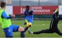 Kasımpaşa, Kayserispor maçının hazırlıklarını sürdürdü