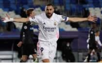 Real Madrid Benzema ile lider turladı