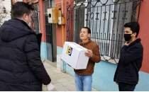 Gemlik Fenerbahçeliler Derneği'nden 65 yaş üstü ailelere gıda yardımı