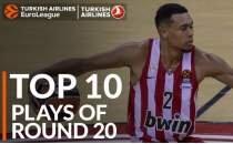 EuroLeague'de 20. haftanın en iyi 10 hareketi