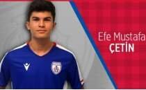 Altınordu'da Efe Mustafa Çetin, profesyonel sözleşme imzalamadı