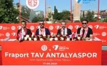 Antalyaspor, isim sponsorluğunu uzattı