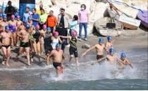 Mersin'de düzenlenen Soli Pompeiopolis Yüzme Maratonu sona erdi
