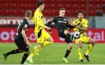 Leverkusen 4 maç aradan sonra Dortmund galibiyetiyle güldü
