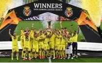 UEFA Avrupa Ligi şampiyonu Villarreal