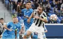 Juventus son anlarda Zenit deplasmanından çıktı