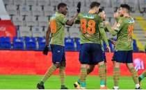 Başakşehir 5 golle çeyrek finalde