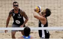 Erkek Plaj Voleybolu Milli Takımı çeyrek finale yükseldi