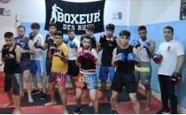 Suriyeli boks antrenörü, Kilis'te geleceğin şampiyonlarını yetiştirmek için çalışıyor